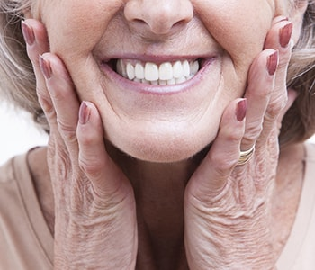 "Dr. Paul O'Malley Patients near Encino and Los Angeles, CA ask, ""What are some recommended options for dentures?"""