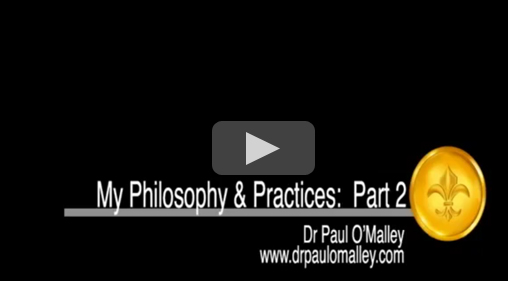 My Philosophy & Practice - part 2