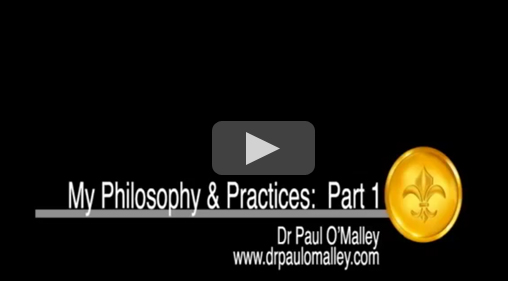 My Philosophy & Practice - part 1